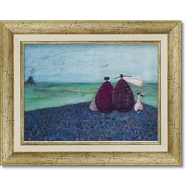 絵画 人気作家 サム トフト 「ずっと、このままで...