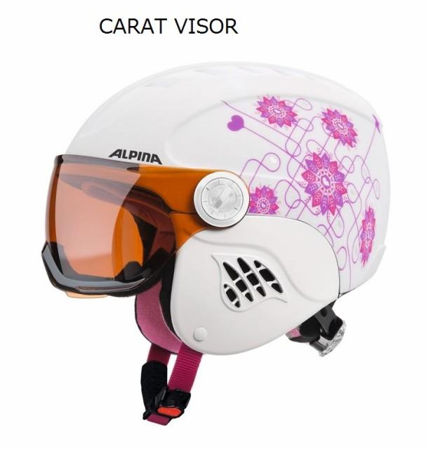 スキーヘルメット ジュニア アルピナ (ALPINA) ...