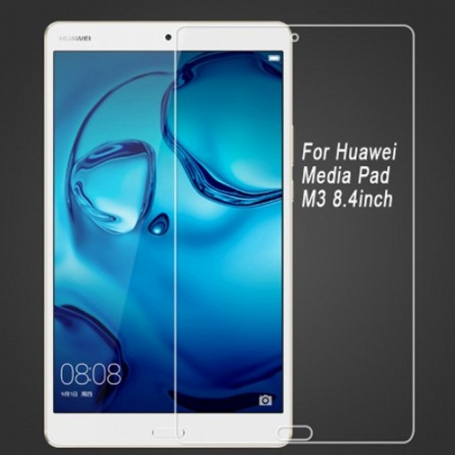 Huawei MediaPad M3 / dtab Compact d-01J 強化ガ...