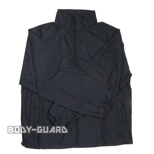 フード付きジャケット HAN WILD フルブラック...
