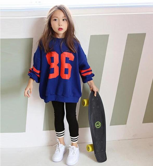 韓国 春秋着 子供服 長袖 女の子 Tシャツ トップ...