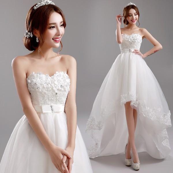 027c8fcf6438a ウェディングドレス aラインドレス 格安 ウエディングドレス サッシュベルト 二次会 ブライダル 花嫁 パーティードレス
