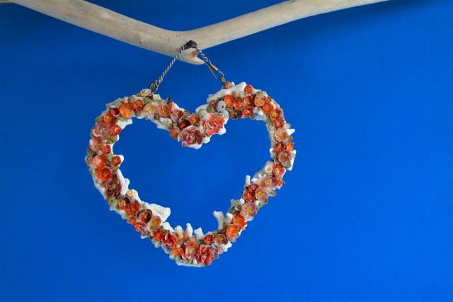 コハランチ 壁飾り(貝殻・珊瑚)