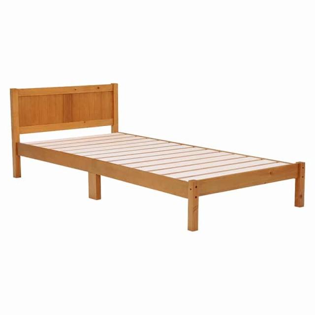 ベッド(ライトブラウン) MB-5102S-LBR