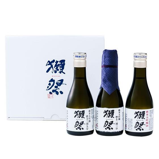 獺祭 おためしセット 磨き23/39/50 180ml 3本 飲...