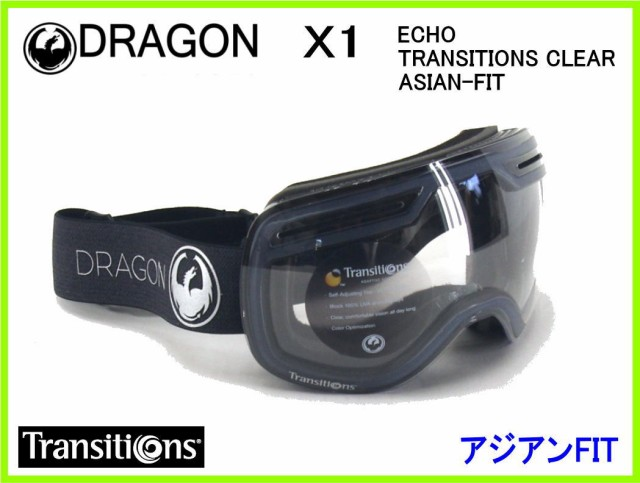 2018 DRAGON X1 ECHO/TRANSITIONS CLEAR ASIAN-FI...