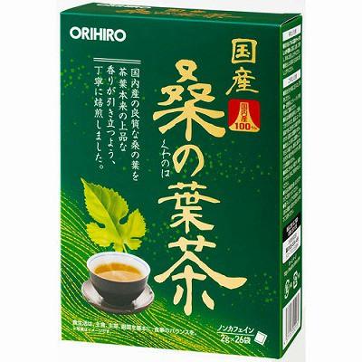 オリヒロ 国産桑の葉茶100% 26包