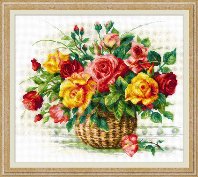 RIOLISクロスステッチ刺繍キット No.1722  「Bask...