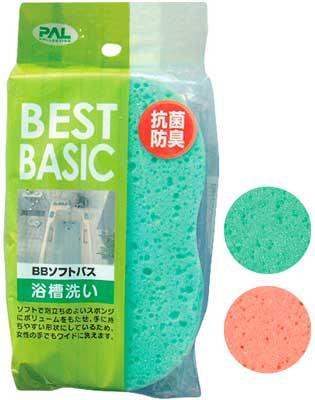 BBソフトバス/浴槽洗いスポンジお風呂洗いスポ...