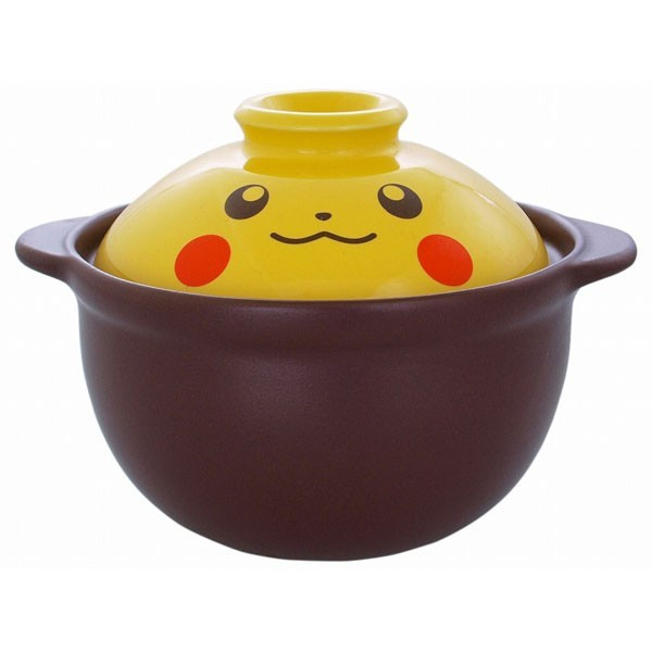 【ポケモン】ピカチュウフェイス一人用土鍋〈1391...