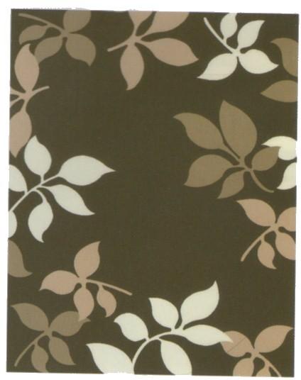 ウイルトン織り敷物(カーペット) ボスコ ブラウ...