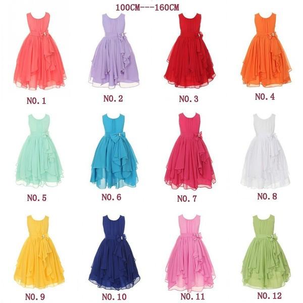 100cm-160cm 人気子供ドレス フォーマル キッズ...