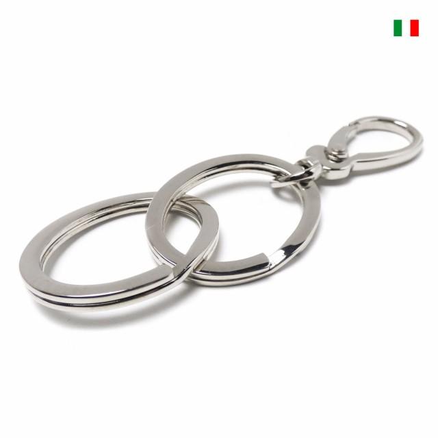 イタリア製デザインナスカン 2連 楕円型フラット2...