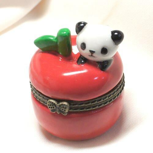 パンダ 陶器製小物入れ 【GE0814-C】