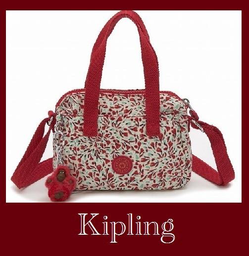 【送料無料】Kiplingポシェット/LEIKE  Sweet Flo...