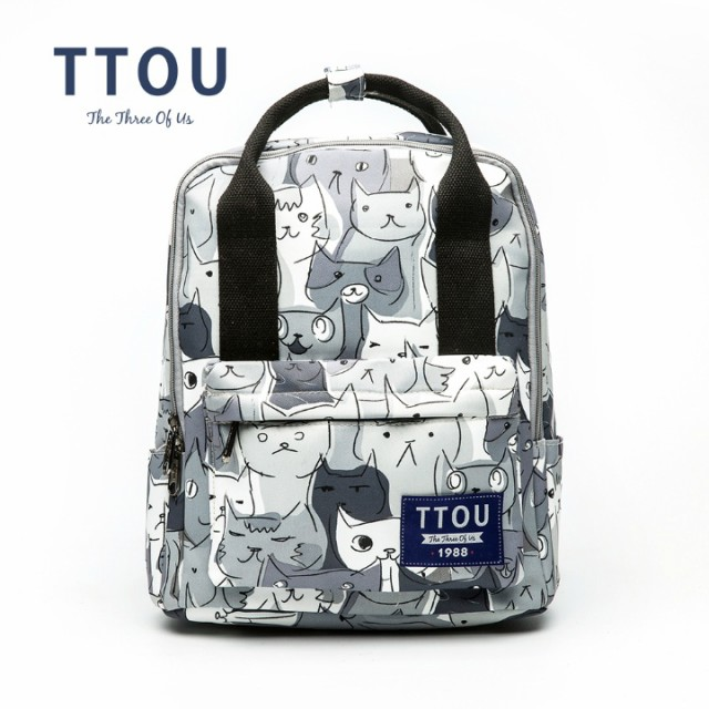 TTOU キャンバス キャットリュックサック(T3256...