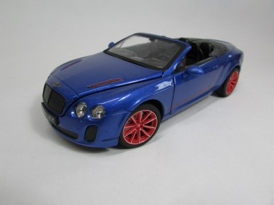 1:24 Bentley Continental GT Supersport ISR ダ...