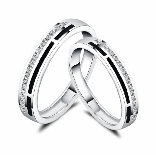 指輪 エタニティリング サイズフリー ダイヤ シル...