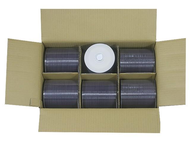 HIDISC TMDR47JNP600U DVD-R ワイドプリンタブル ...