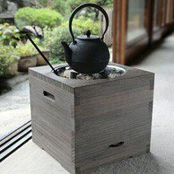 火鉢 桐の箱