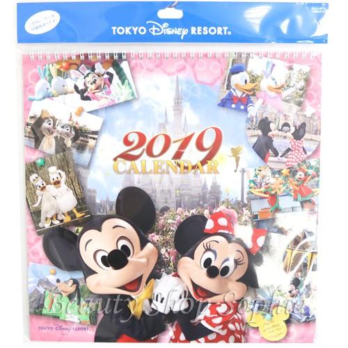 ミッキー&フレンズ 実写 壁掛けカレンダー 2019...