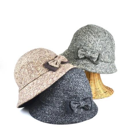 【帽子 キャップ】レディース用◆ミックスリボン...