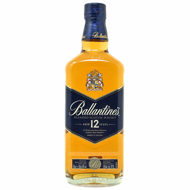ブレンデットスコッチウイスキー バランタイン12...