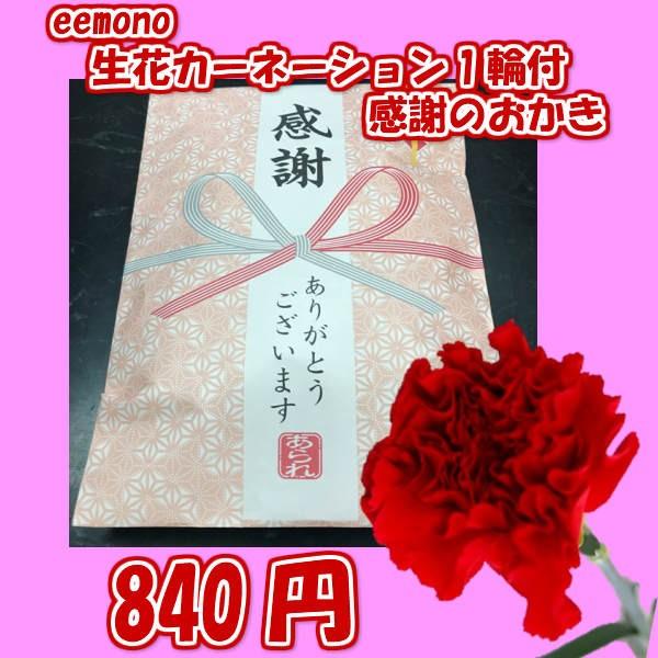 感謝のきもち&カーネーション付/おかき/お煎餅/...