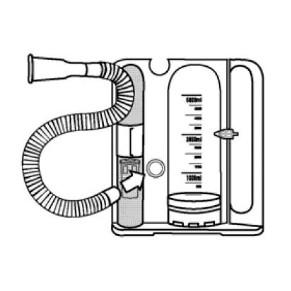 呼吸訓練器 ボリューメトリックエクササイザーVS5...