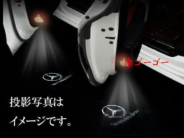 【送料無料】ベンツ ドア カーテシランプ W221/W2...