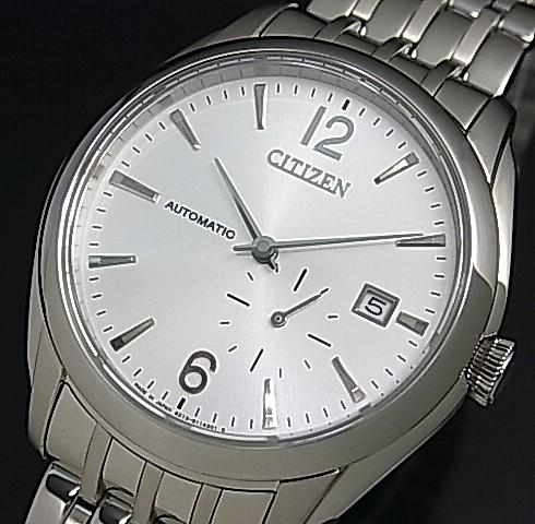 【CITIZEN/シチズン】自動巻 メンズ腕時計 シルバ...