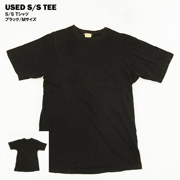 USED S/S Tシャツ ブラック/Mサイズ
