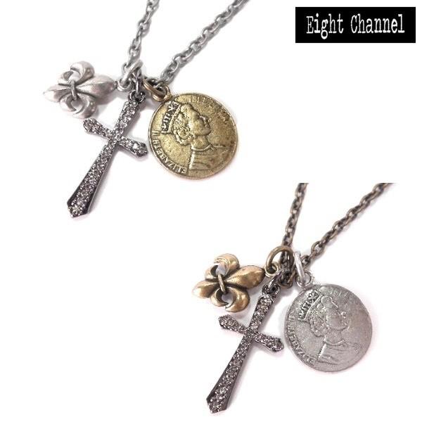 ネックレス クロス 十字架 百合の紋章 期間限定セ...