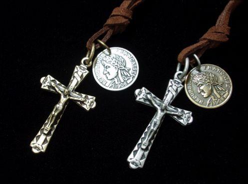 チョーカー キリスト クロス 十字架 【500円セー...