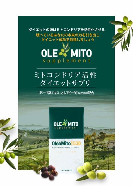 オレアミト1530(oleamito)オリーブ葉抽出物含有...