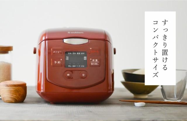 4.0合炊き炊飯器 SCR-H40R レッド