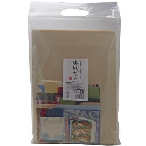 609547 アワガミ 端紙セット 大 種類、色、サ...