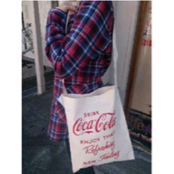 コカコーラ  COTTON ONE SHOULDER BAG アメリカ...