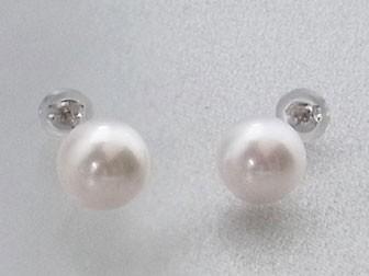 真珠 パール ピアス アコヤ真珠 あこや真珠 8.0-8...