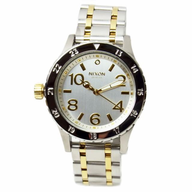 NIXON ニクソン 腕時計 ユニセックス 38-20 シル...