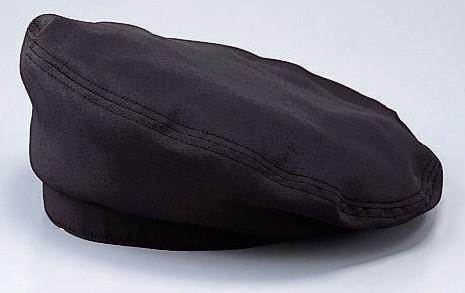 EA5353 アンクル加工 ベレー帽 黒 (厨房 調...