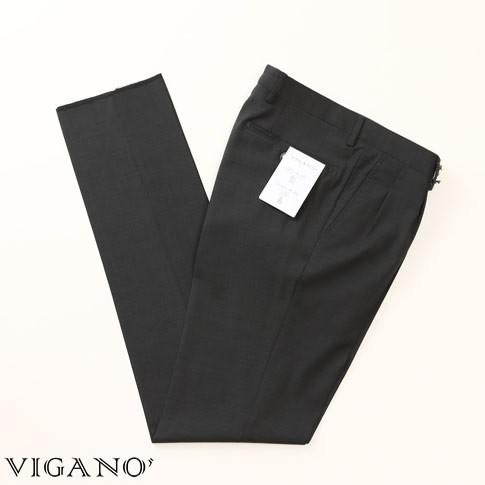 VIGANO ヴィガーノ ウールパンツ チャコールグレ...