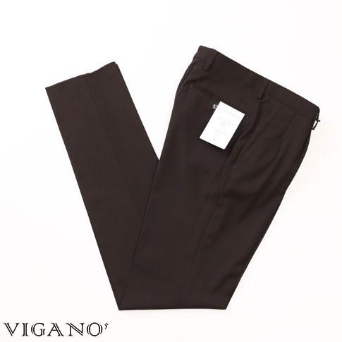VIGANO ヴィガーノ ウールパンツ ブラウン vig99-...
