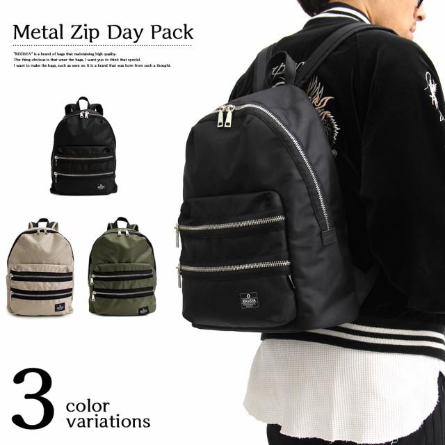新作!【REGiSTA】METAL ZIP Backpack  /バッグ・...