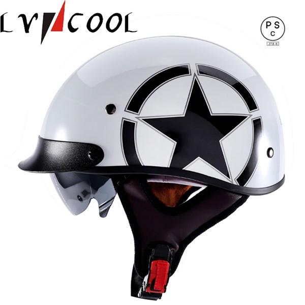ハーフヘルメット 半キャップ ヘルメット バイク...