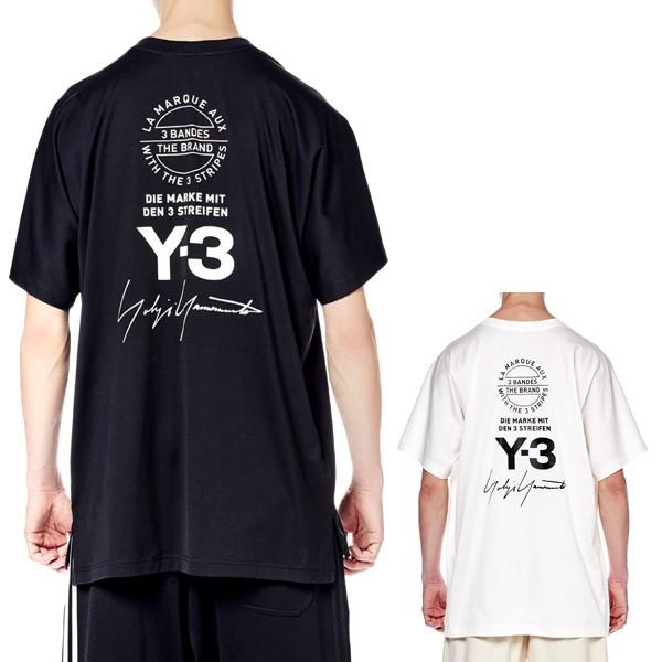 Y-3 ワイスリー グラフィックTシャツ Yohji Yamam...