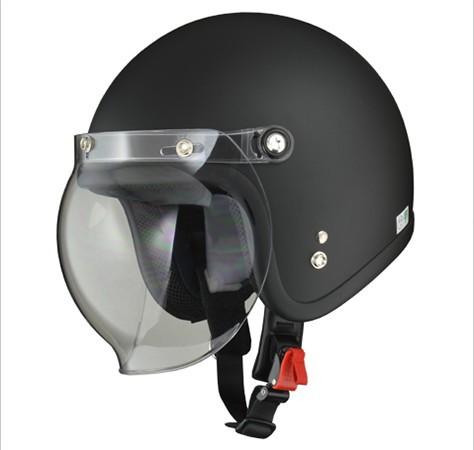 LEEDヘルメット MOUSSE ジェットヘルメット「H マ...