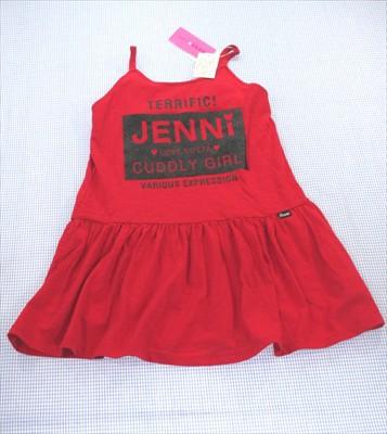 ジェニー Jenni 140cm ワンピース ノースリーブ ...