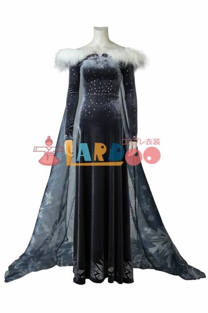 アナと雪の女王/家族の思い出 エルサ コスプレ衣...