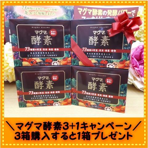 マグマ 酵素 3g×30スティック入り3箱 漢方 き...